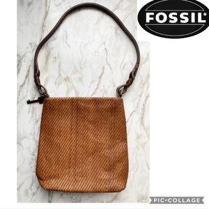 rad fossil straw purse